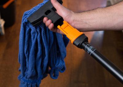 SWOPT detachable dust mop cleaning head